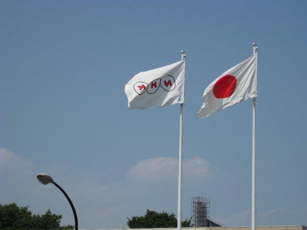 NHKの旗