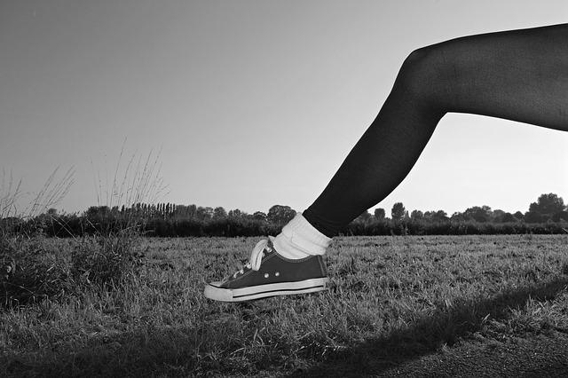 靴とストッキング