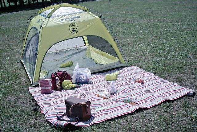 テントとシート